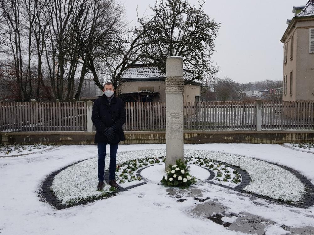Gedenken NS Opfer BM Huge