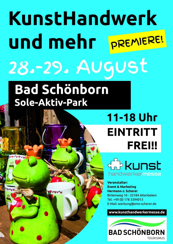 Plakat für Kunsthanderwerkermarkt